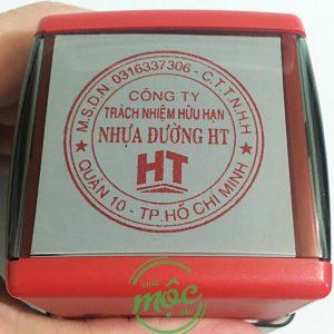dấu tròn công ty TNHH